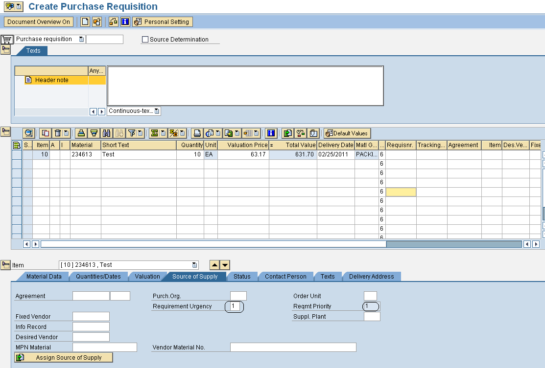 Requirement Prioritization in SAP Materials Management | SAP