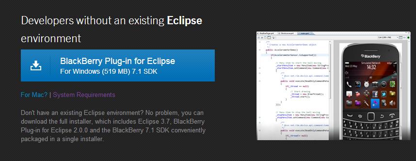 SUP: A simple BlackBerry Native app development | SAP Blogs