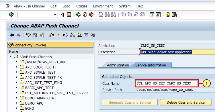 ABAP Channels Part 1: WebSocket Communication Using ABAP Push
