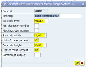 How to Print Barcodes that are not supported by SAP using