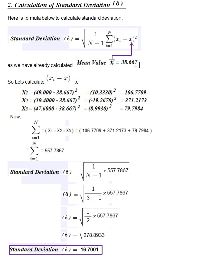 Calculation Of Standard Deviation Cp Cpk In Spc Sap Blogs