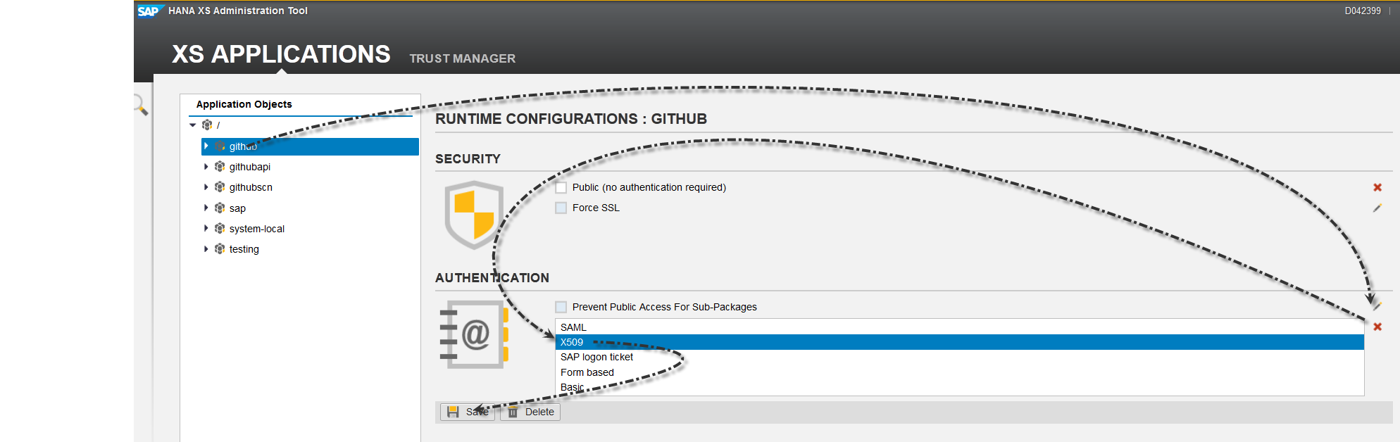 X509 authentication in hana xs sap blogs change the authentication 1betcityfo Gallery