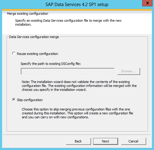 Tutorial: How to install SAP Data Services 4 2 – Part 1