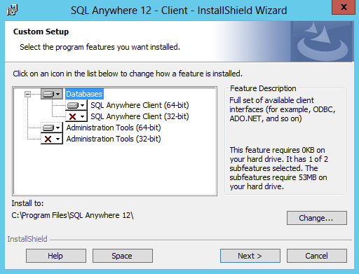 INSTALL SQL ANYWHERE ODBC DRIVERS FOR WINDOWS 8