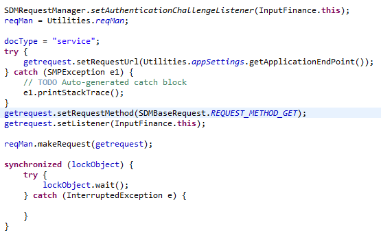 Android OData REST SDK Request.PNG