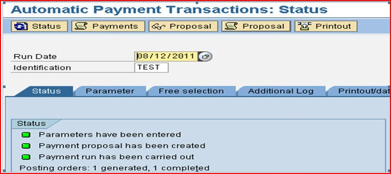 Multiple partial payments from an invoice through Automatic