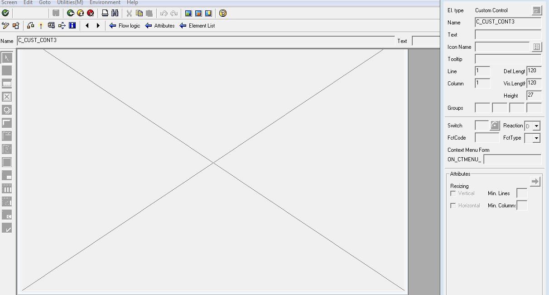 Custom writing help in module pool program