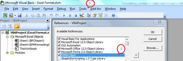 How to format numbers in Lakhs and Crores in SAP BPC Excel