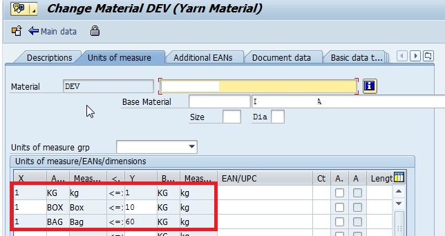 Create Info Record For Different Order Unit Sap Blogs