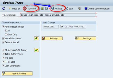 Trace de Autorizaciones SAP - Consultoria-SAP