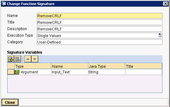 Remove line feed (or) CRLF from text fields | SAP Blogs