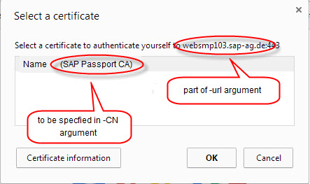 Avoid Certification Selection Popup in Google Chrome | SAP Blogs