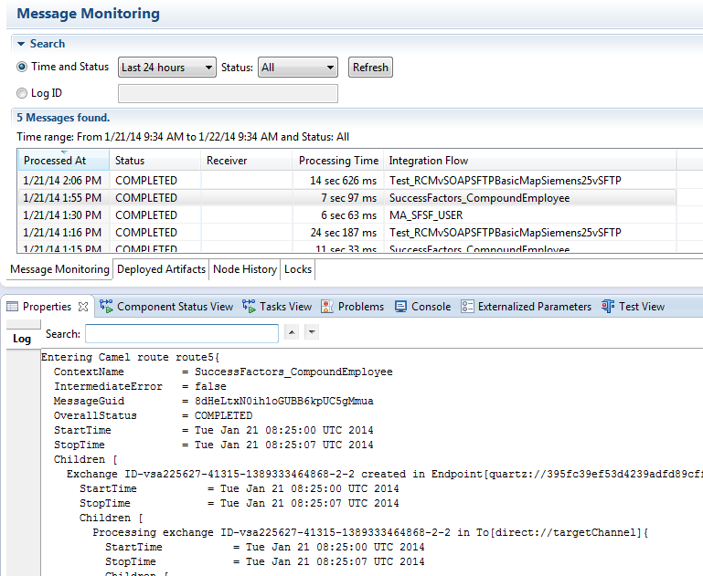 SuccessFactors Adapter in SAP HANA Cloud Integration (SAP HCI) | SAP