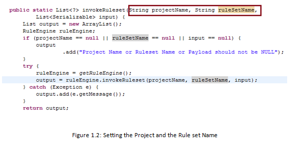 Figure 1.2 - Setting the Project and the Ruleset Name.png