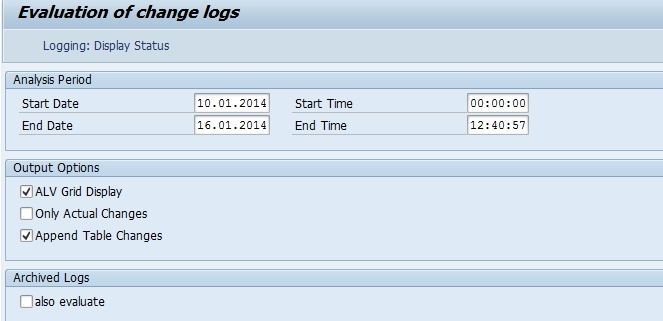 Find Changes Logs for a table using SM30 | SAP Blogs