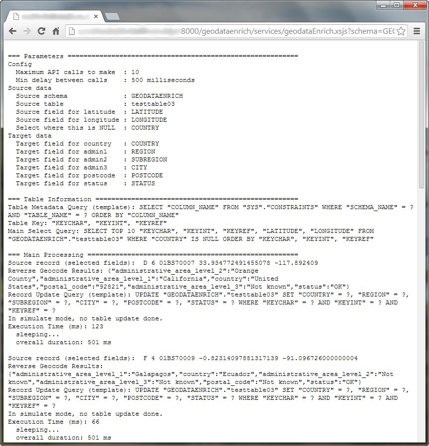Reverse Geocode your HANA Data with this XS JavaScript