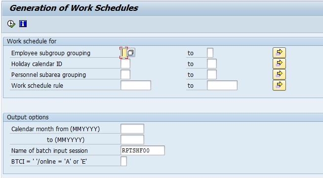 Public Holiday Calendar and Work Schedule Rules | SAP Blogs