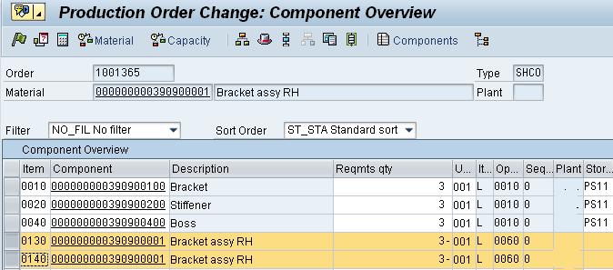 Combined Production Order Processing (DIMP) | SAP Blogs
