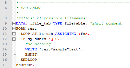 abap syntax highlighting in notepad part 2 sap blogs