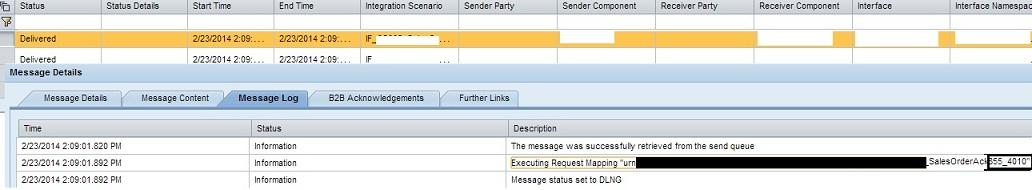 b2b scenario creating and testing custom edi message version ansi