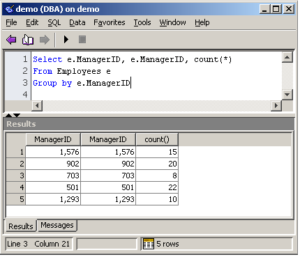 From The Archives: Using recursive queries with SQL Anywhere