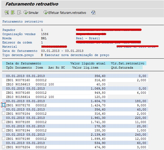 retroactive billing vfrb customizing with nf e sap blogs