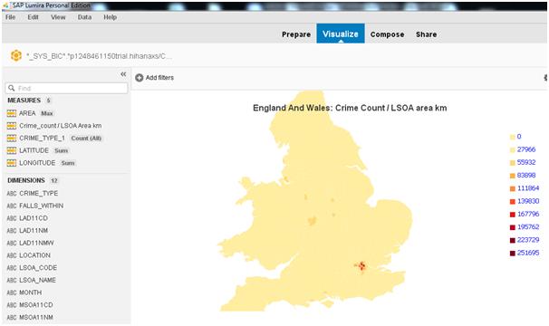 Custom Choropleth Maps with VizPacker | SAP Blogs