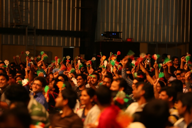 Audience cheering for Demo Jam Pic 1.JPG