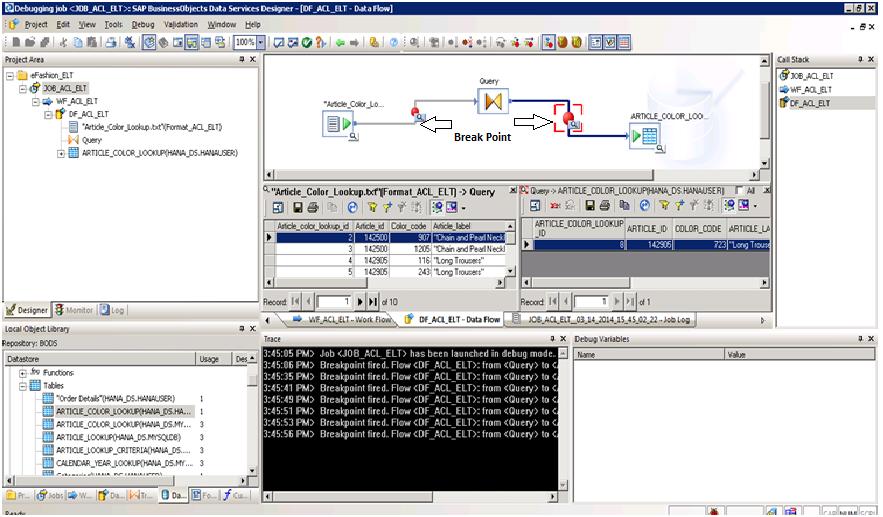data modeling in sap hana with sample efashion database