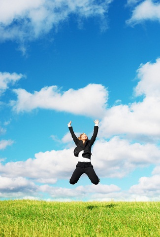Woman Jumping in the cloud.jpg