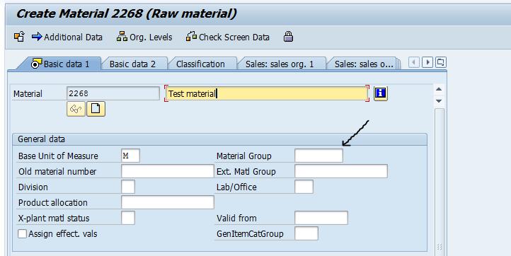 Control material master fields | SAP Blogs