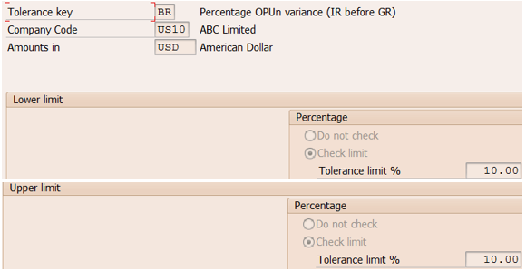 Invoice Tolerance Keys An Insight Part SAP Blogs - Whats invoice price for service business
