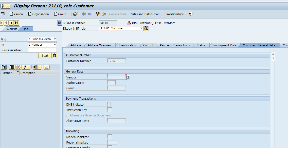 Business Partner Customer Vendor Integration Sap Blogs