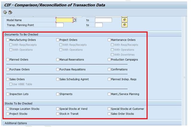 Inside SAP APO CCR (Comparison and Reconciliation) and