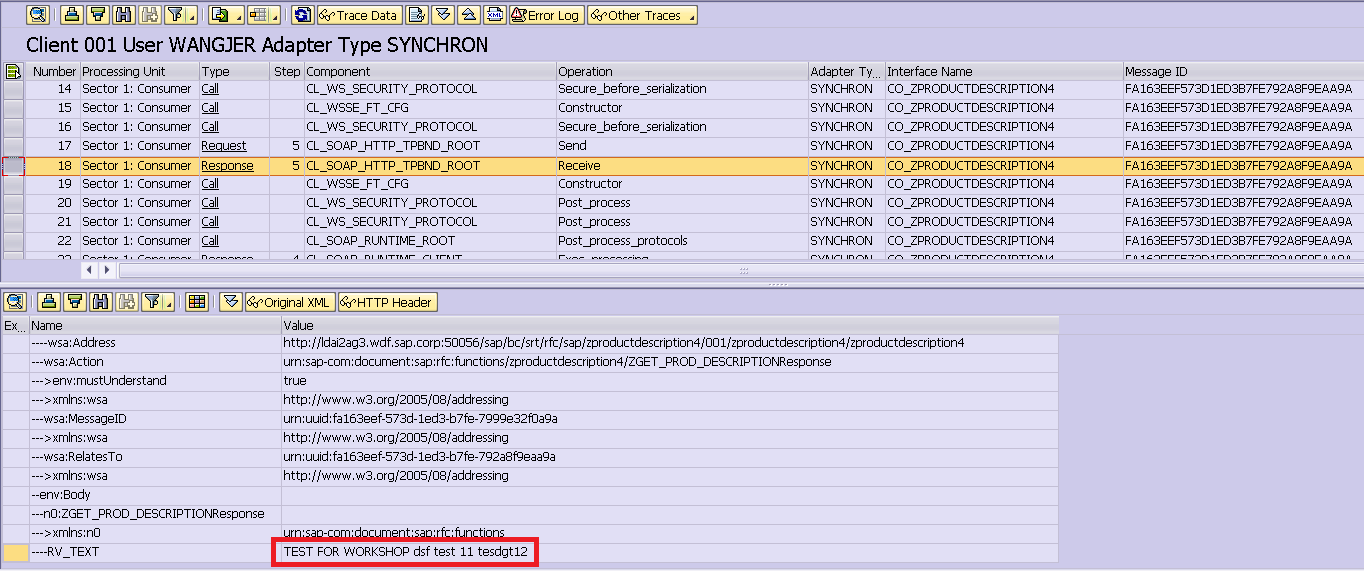 step by step to create consume and trace web service in abap system
