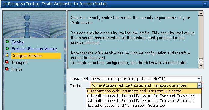 Step by step to create, consume and trace web service in