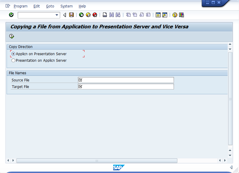 Guide: how to download files from AL11? | SAP Blogs