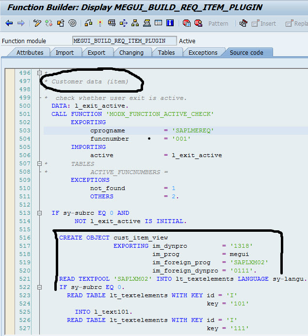 Create Custom Tab at Header in Purchase Requistion | SAP Blogs