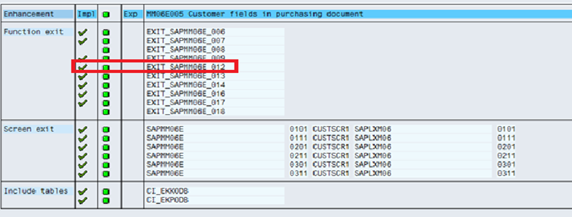 Modification to Purchase Order Screen | SAP Blogs