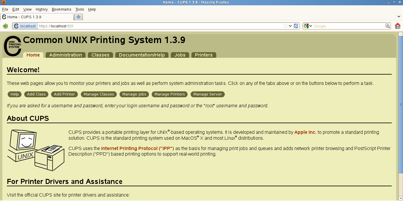 Cups Common Unix Printing System Pdf