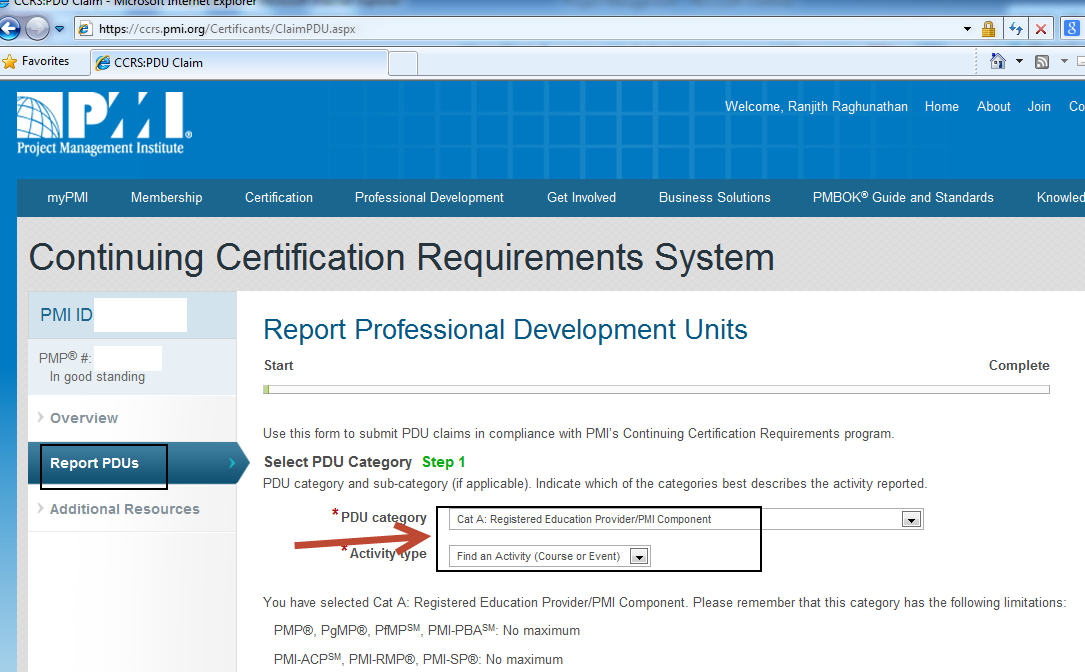 How To Gain Pmi Pmp Pdus From Sap Trainings Sap Blogs