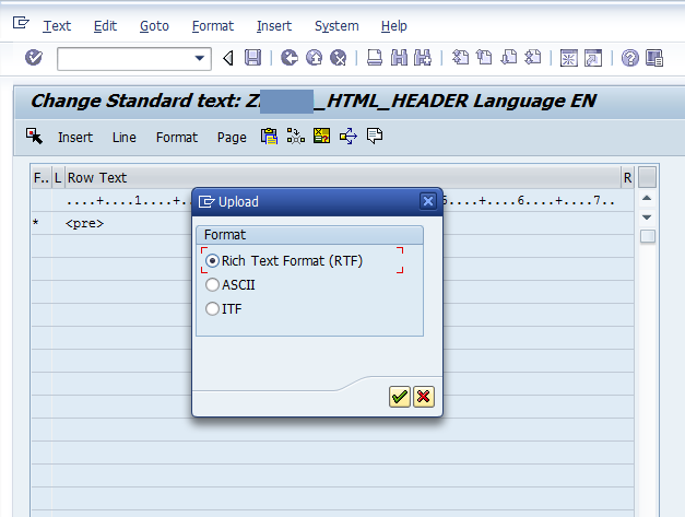E-Mail formatting using Standard Texts made simplified | SAP