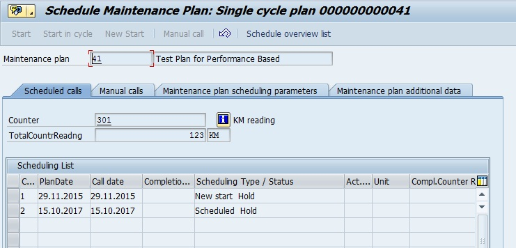 how to delete maintenance plan at sap plant maintenance
