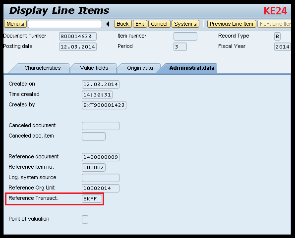 Relationship between BKPF and CE1xxxx tables | SAP Blogs