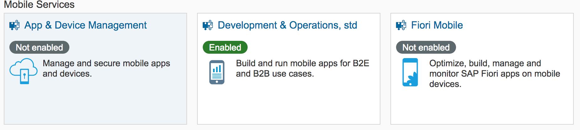SAP Cloud Platform Mobile Services : REST API Application Development