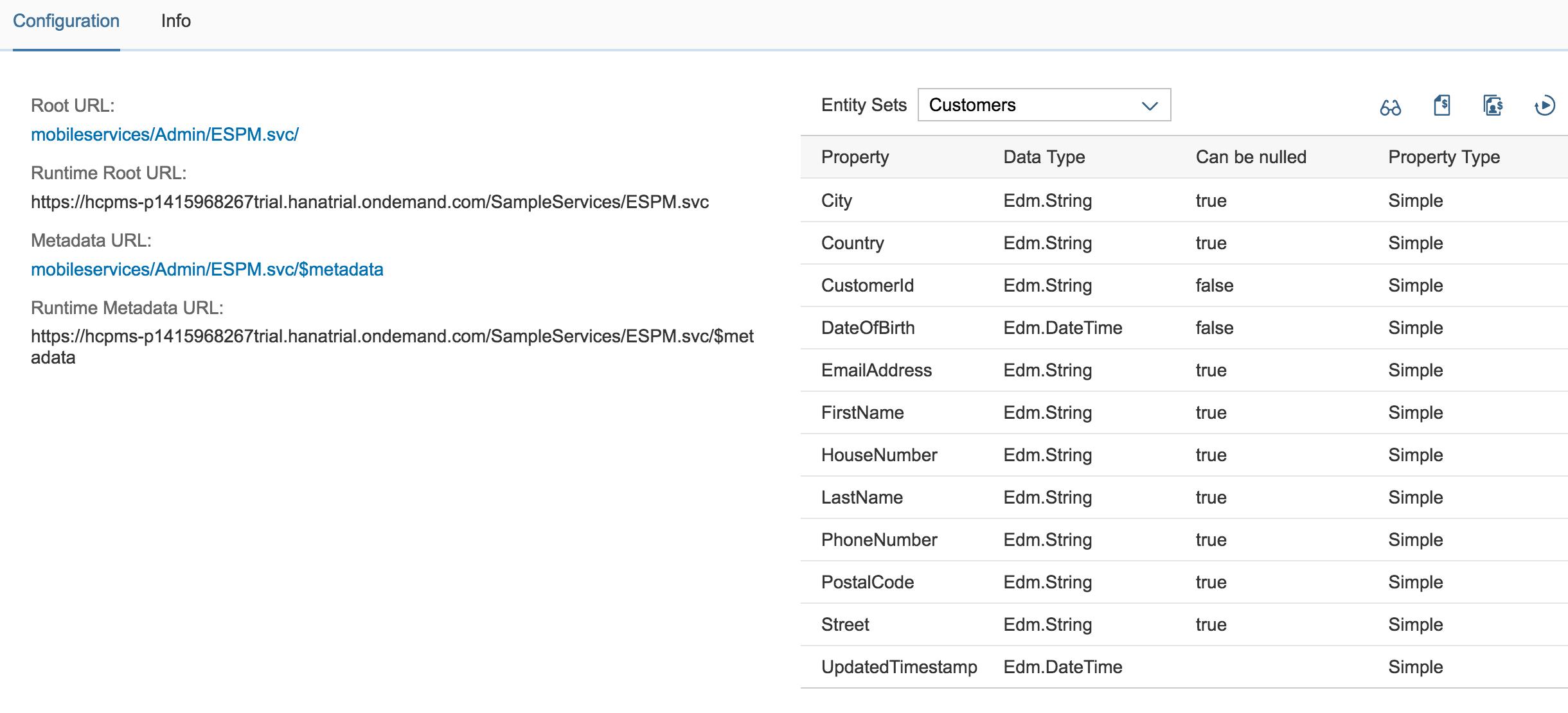 SAP Cloud Platform Mobile Services : REST API Application