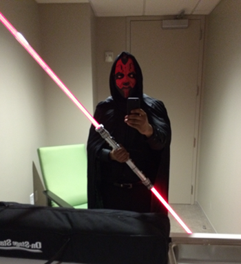 Charles Reeves as Darth Maul 2014.png