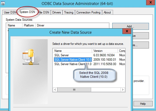 DBCON Connections not working after SAP SQL Server Upgraded to 2012