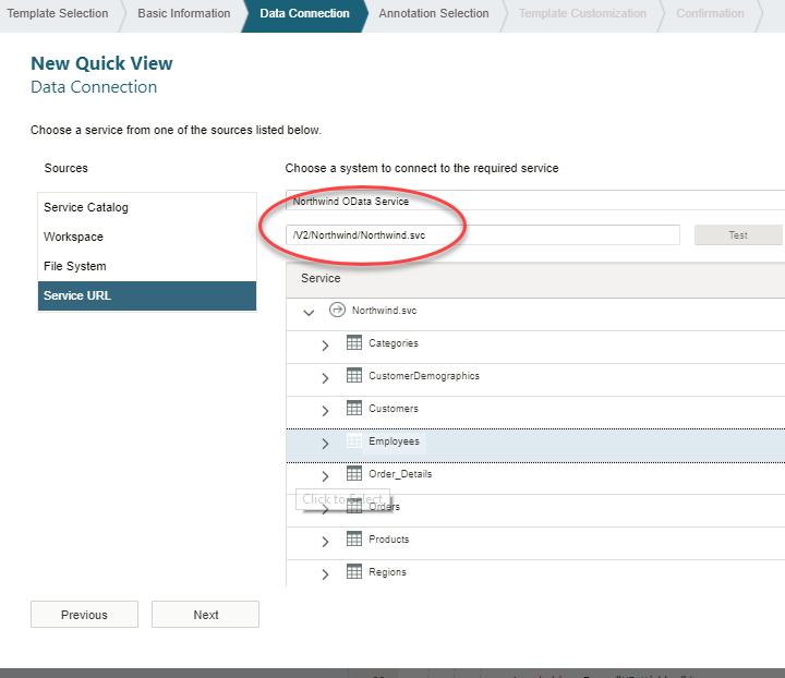How to use Northwind OData service with SAP Web IDE | SAP Blogs