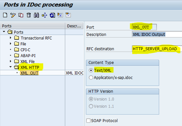 xml idoc in sap ecc without middleware and rfc sap blogs